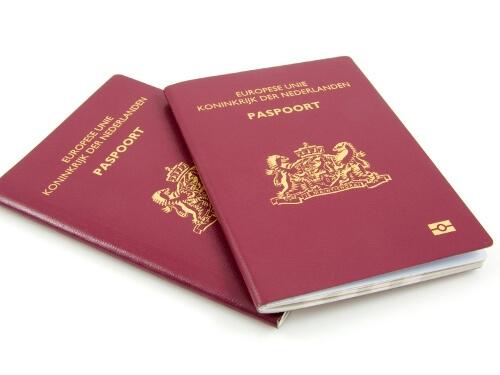 Achterkant paspoort ook in administratie