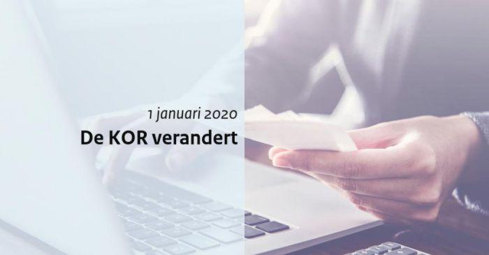 De Kleine Ondernemers Regeling (KOR) per 1 januari 2020