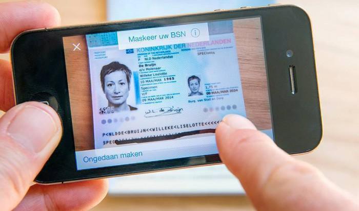Hoe maak ik een veilige kopie van mijn identiteitsbewijs
