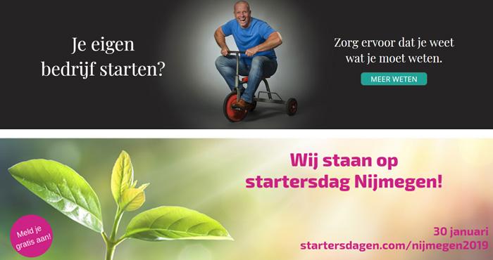 Startersdag Nijmegen 30 januari voor ondernemers