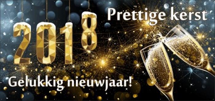Wij wensen u fijne feestdagen en een succesvol 2018